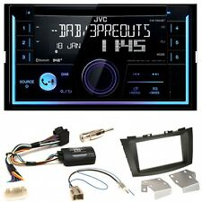 JVC KW-DB93BT USB MP3 DAB+ Bluetooth CD Einbauset für Suzuki Swift Sport FZ NZ