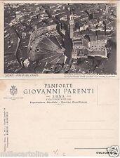 # SIENA: PIAZZA DEL CAMPO- VEDUTA AEREA/ PUBBLICITA PANFORTE G. PARENTI