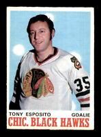 1970-71 O-Pee-Chee #153 Tony Esposito EX+ X1358985