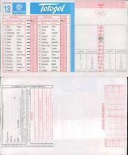 TOTOGOL R@R@  SCHEDA  N.13  A 30 PARTITE DEL 04 12 1994