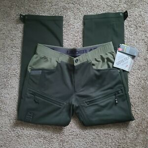 Under Armour Ridge Reaper Infil Ops WINDSTOPPER® Pants Sz 38 Hunting NEW $200