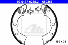 Bremsbackensatz für Bremsanlage Hinterachse ATE 03.0137-0265.2