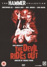 HAMMER HORROR DVD – The DEVIL RIDES OUT – CHRISTOPHER LEE