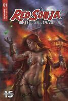 Red Sonja Birth Of The She-Devil #1 Cover A Regular Lucio Parrillo Cover