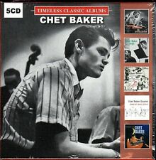 Chet Baker~5 Timeless Classic Albums~BRAND NEW 5 CD BOX SET~Free 1st Class Mail