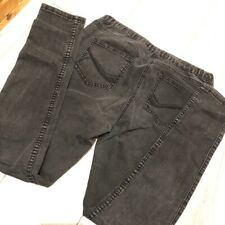 Black Skinny Jeggings 10 W28 L29 Faded Stretch Comfy Casual Jeans Mid Rise M&Co