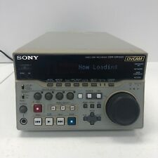 Sony DVCAM Video Disc Recorder DSR-DR1000 Tested Working w/ Power Adapter