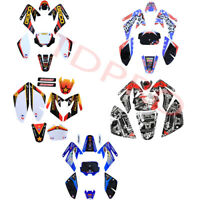 Stickers Decal Graphics Kit for CRF70 XR70 Dirt Pit Bike Thumpstar Atomik SSR