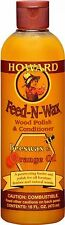 Howard Products Feed-N-Wax Wood Polish and Conditioner, 16-Ounce, FW0016 FW0016
