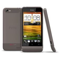 NEW CONDITION HTC ONE V GREY UNLOCKED SMARTPHONE - 12 MONTHS WARRANTY