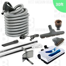 Hayden Central Vacuum Electric Kit 30' Hose Powerhead Vac Tools