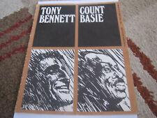 Tony Bennett Count Basie Tour Programme