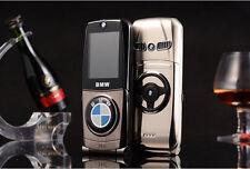 mini cell phone 760 metal car phone dual SIM cards Flip old man mobile phone