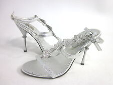 DYABLES STARLIGHT COLLECTION WOMEN'S EMORY FASHION SANDAL,SILVER, US 6.5 MEDIUM
