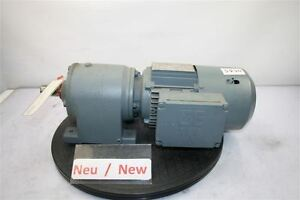 Sew 0,25 Kw 35 Min Gear Motor R40DT71C4BM/HF / Tf Eurodrive Gearbox