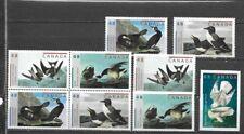 pk34752:Stamps-Canada #1979-1983 Audubon Birds Issues - MNH