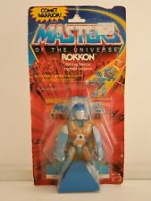Masters Of The Universe  Rokkon, Factory Sealed Vintage Mattel Action Figure toy