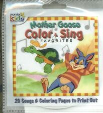 MOTHER GOOSE 3 BLIND Mice Twinkle Little Star Peas Porridge Hot Color & Sing CD