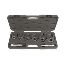 Crowfoot Wrench Set 8pc Flared Jaw Metric 33 - 50mm Toledo Trade Quality Tools