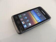 Samsung Galaxy Xcover GT-S5690 - Titan Gray (Ohne Simlock) Smartphone mit Sprung