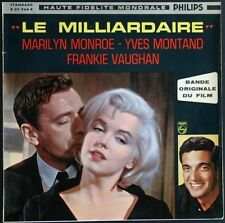 MARILYN MONROE OST BO FILM LE MILLIARDAIRE RARE 25CM ORIGINAL Let's make love