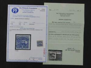 Nystamps US Stamp # 114a Mint OG $10000 2 PF Certificates u25zc