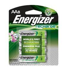 Energizer AA Universal Recharge NiMH Batteries EXP 11/2022 (8/pk) 2000mAh 1.2V