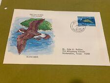 1978 FAROER FOROYAR DENMARK FDC ISLAND BIRDS  (Folder4085)