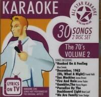 Karaoke: The 70's 2 - Audio CD - VERY GOOD