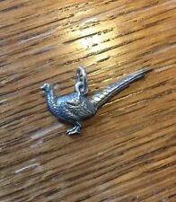 James Avery Retired Pheasant Charm Or Pendant In Sterling Silver