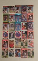 Dennis Martinez Baseball Card Mixed Lot approx 55 cards