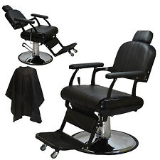 2x Classic Professional Hydraulic Reclining Barber Chair Beauty Salon Equipment