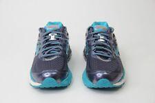 New Brooks Ariel '16 DNA Running Shoes Women's Gray Metallic Teal White Size 7