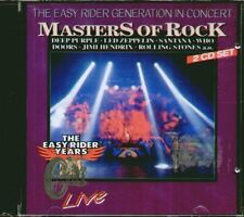 "THE EASY RIDER GENERATION IN CONCERT""MASTERS OF ROCK""(DOORS-PINK FLOYD) 2 CD SIG"