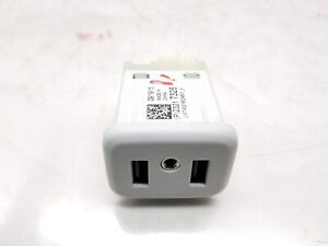 17-19 CADILLAC XT5 USB Port Audio Auxiliary Jack 23217326 OEM Genuine
