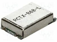 Modulo: RF Ask, Ook 868,3MHz 9dBm 2,2÷3,6VDC Am Sender 6,8x12mm RCTX-868-L
