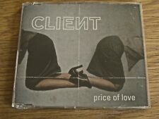 CD Single: Client : Price Of Love : Sealed