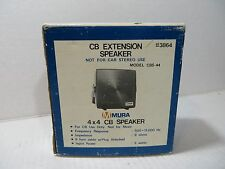 "Mura Cb Extension Speaker 4""x4"" Model Cbs-4"
