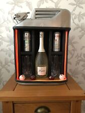 Jerry Can Mini Bar - Silver - Upcycle - Bar - Hotel - Man Cave