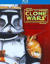"STAR WARS; THE CLONE WARS(2009)LBX ""SEASON ONE"" (BRAND NEW BLUE RAY BOX SET)"
