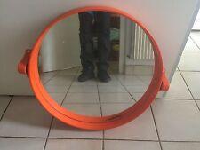 Miroir Orange  Vintage    années 70