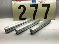Triang Ho Scale Santa Fe Observation Combine Slumbercoach Lot of 3 Old Stock