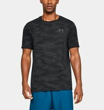 Under Armour Vanish Seamless Camo Short Sleeve Mens Training Top - Black