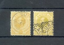 CURACAO- WILLEM III - # 5 , 10 ---CV € 95 - USED LUXE
