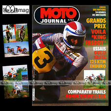 MOTO JOURNAL N°617 HONDA 200 MTX & XL 200 R XLR ★ GUZZI 850 T5 ★ KTM 125 1983