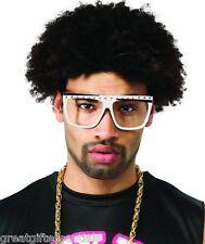 LMFAO PARTY ROCK Glasses Frames WHITE Black Redfoo Costume Sexy Dance Wayfarer