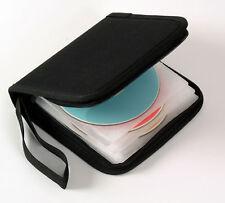 BOX OF 40 X BIB-504 BLACK HEAVY DUTY STORAGE CASES FOR 12 CD'S DVD'S BLU-RAY