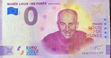 BILLET 0  EURO MUSEE LOUIS DE FUNES  FRANCE 2020 NUMERO DIVERS