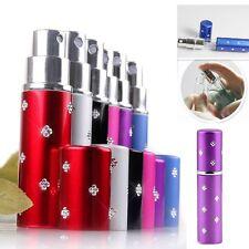 6 x 5ml Mini Travel Refillable Perfume Atomizer Bottle for Spray Scent Pump Case