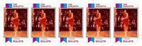 (5) 1993 SCD #64 Tom Gugliotta Basketball Card Lot Washington Bullets